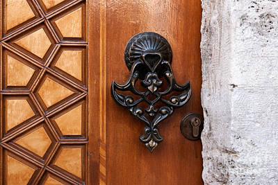Photograph - Firuz Aga Mosque Door 09 by Rick Piper Photography