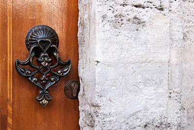 Photograph - Firuz Aga Mosque Door 10 by Rick Piper Photography