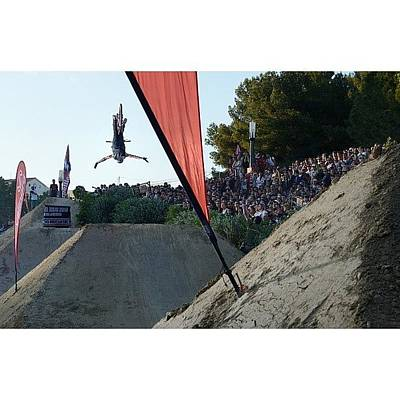 Mtb Photograph - #fise #2013 #montpellier #slopestyle by Miguel Rosado