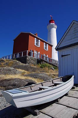 Photograph - Fisgard Lighthouse In Victoria by Marilyn Wilson