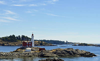 Photograph - Fisgard Lighthouse by Shanna Hyatt