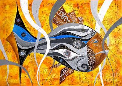 Fish 0465 - Marucii Print by Marek Lutek