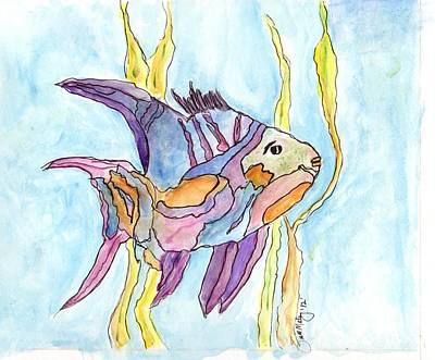 Fish 1 Art Print by Diane Maley