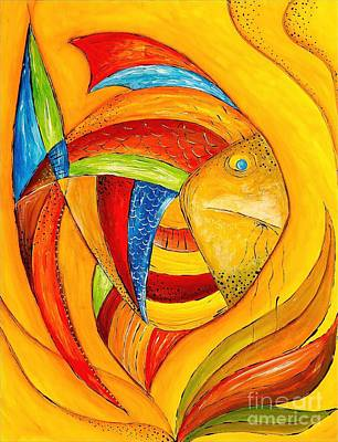 Fish 428-08-13 Marucii Art Print