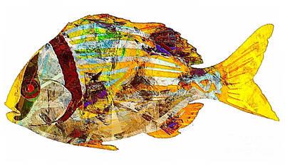 Digital Art - Fish 506-11-13 Marucii by Marek Lutek