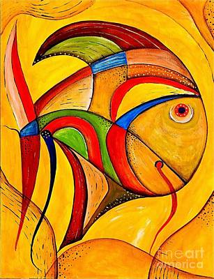 Fish 534-11-13 Marucii Art Print