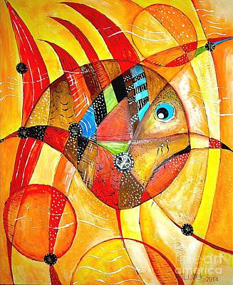 Fish 716-14 Marucii Art Print