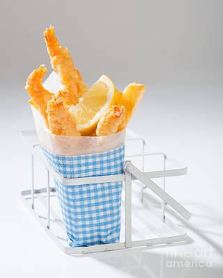 Potato Chip Photograph - Fish And Chips by Amanda Elwell