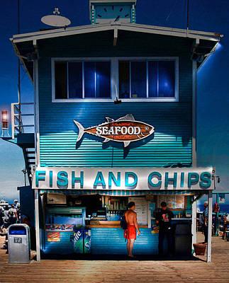 Photograph - Fish And Chips by Wayne Wood