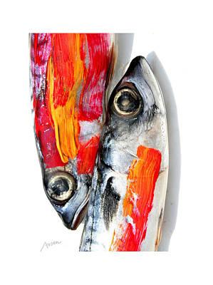 Fish Art Print by Arsen Arsovski