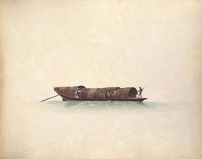 Illustration Technique Photograph - Fish Boat by British Library