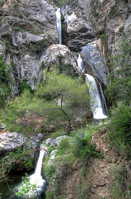 Photograph - Fish Canyon Falls by Eddie Yerkish
