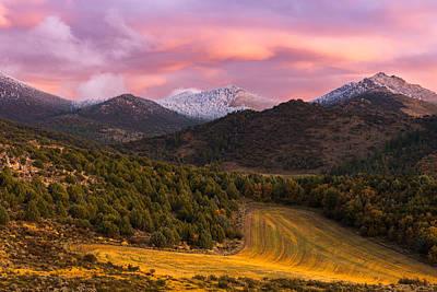 Photograph - Fish Creek Pass Sunset by Joseph Rossbach