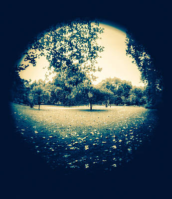 Photograph - Fish Eye Park by Lenny Carter