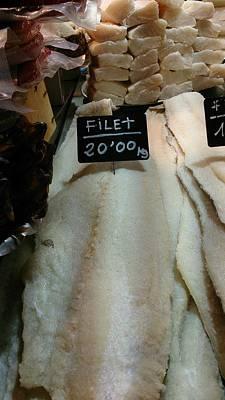 Fish Filets Art Print