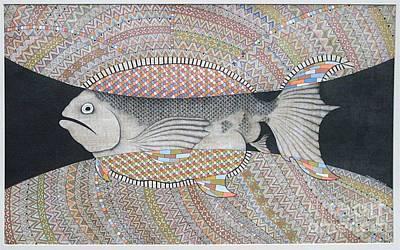 Fish Art Print by Grass Hopper
