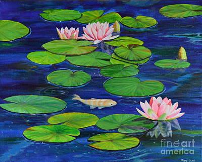 Tranquil Pond Art Print