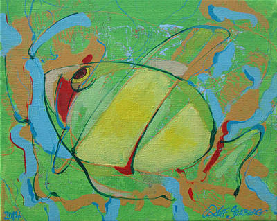 Painting - Fish by Jeff Seaberg