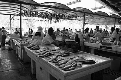 Photograph - Fish Market In Dubai by Maeve O Connell