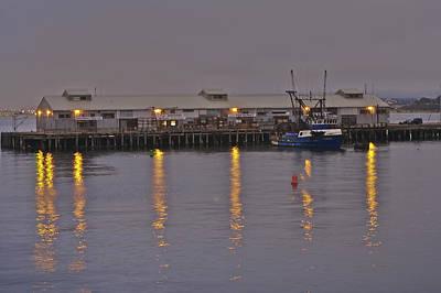 Monterey Photograph - Fish Market  by SC Heffner