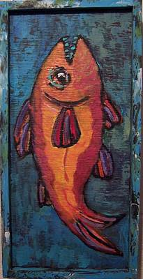 Painting - Fish On Board by Krista Ouellette