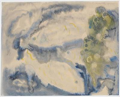 Fish Series, No. 1 Art Print by Charles Demuth