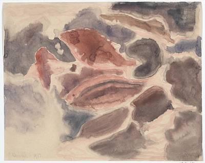Fish Series, No. 2 Art Print by Charles Demuth