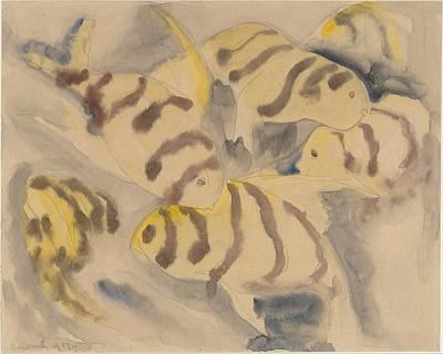 Fish Series, No. 3 Art Print by Charles Demuth