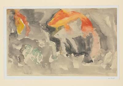 Fish Series, No. 5 Art Print by Charles Demuth