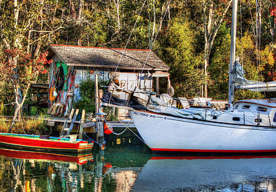 Photograph - Fish Shack And Invictus Original by Michael Thomas