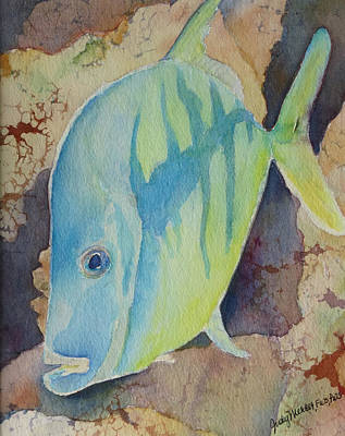 Painting - Fish Wish by Judy Mercer