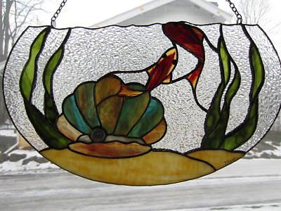 Glass Art - Fishbowl by Karin Thue