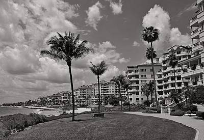 Art Print featuring the photograph Fisher Island by Lorenzo Cassina