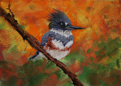 Pastel - Fisher King by Lorraine McFarland
