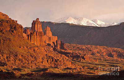 Fisher Towers Photograph - Fisher Towers by Jim Chamberlain