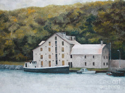 Fisheries Building Print by Steve Knapp