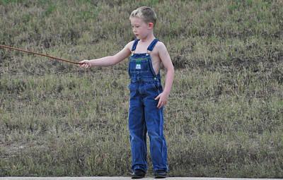 Photograph - Fisherman 1 by Teresa Blanton