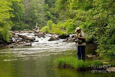 Photograph - Fisherman  2 by Sandra Clark