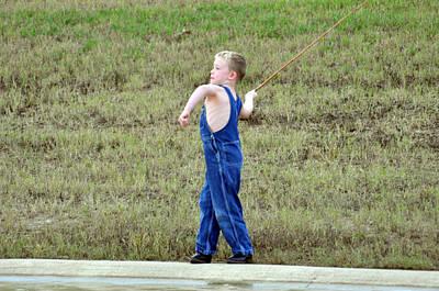 Photograph - Fisherman 3 by Teresa Blanton
