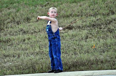 Photograph - Fisherman 5 by Teresa Blanton