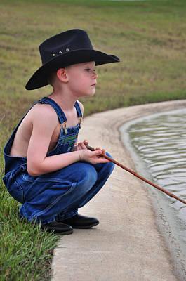 Photograph - Fisherman 9 by Teresa Blanton