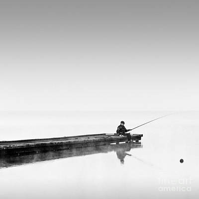Wall Art - Photograph - Fisherman At Sunrise by Maggy Morrissey