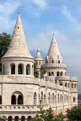 Budapest Hungary Attractions Photograph - Fisherman Bastion In Budapest by Artur Bogacki