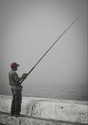 Tom Hudson Photograph - Fisherman by Tom Hudson