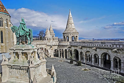 Photograph - Fisherman's Bastion by Elvis Vaughn