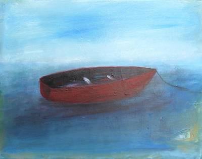 Painting - Fisherman's Boat by Mary Feeney