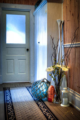 Photograph - Fishermans Hallway by Williams-Cairns Photography LLC