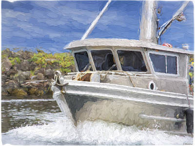 Painting - Fisherman's Prayer - West Coast Art by Jordan Blackstone