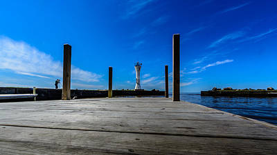 Photograph - Fisherman's Road Lighthouse 2 by Randy Scherkenbach