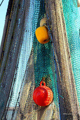 Photograph - Fisherman's Tools by Dick Botkin